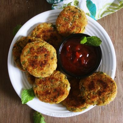 Rice Cutlet Recipe | Cutlet using leftover rice
