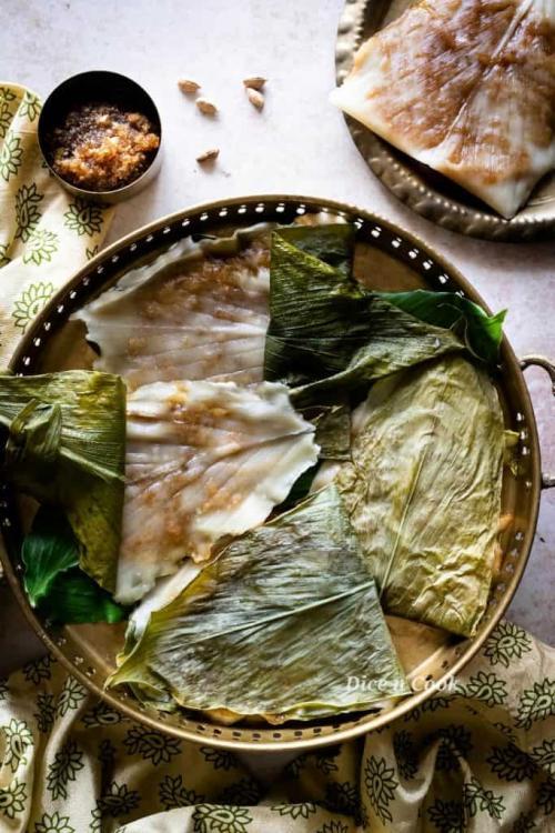 Patholi   How to make patholi (video recipe)   Kayi Genasale