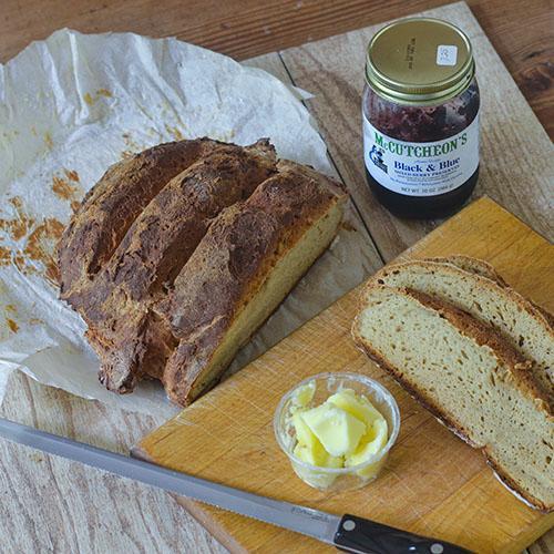 GF Sourdough Ginger Ale Bread