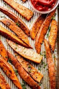 Crispy Sweet Potato Wedges