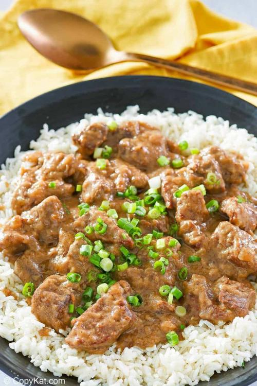 Tender Beef Tips and Gravy