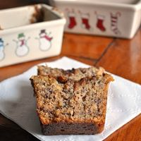 Boozy Toffee Banana Bread