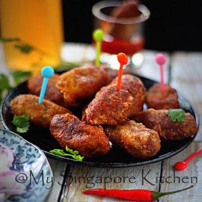 Fried Chicken Kabab/ Kebab / Kabob- Malabar Style