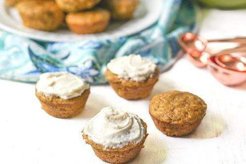 Mini Keto Pumpkin Muffins