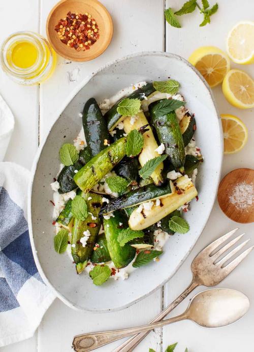Perfect Grilled Zucchini