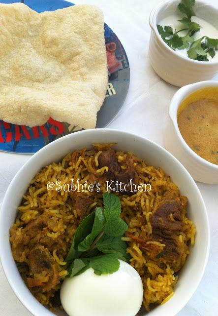 Mutton Biriyani/Biryani