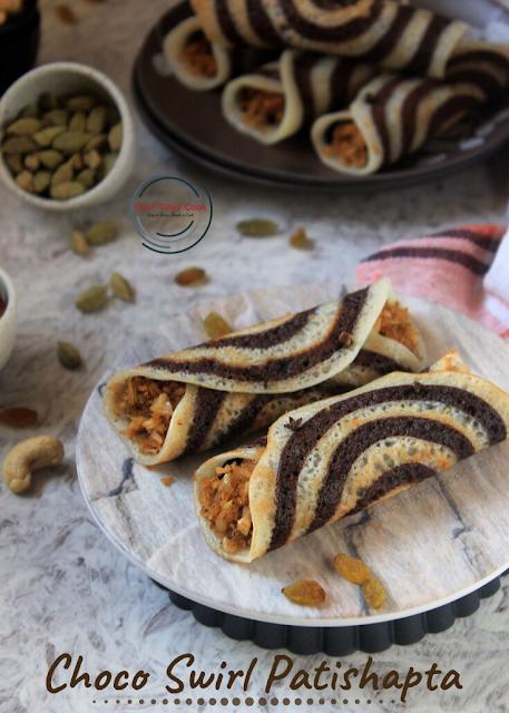 Choco Swirl Patishapta
