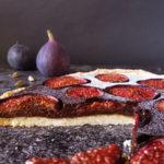 Rustic Fig and Chocolate Tart