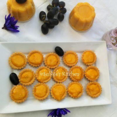 Mini Creamy Corn Tartlets/ Puding Jagung