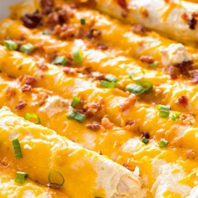 Overnight Breakfast Enchiladas + VIDEO