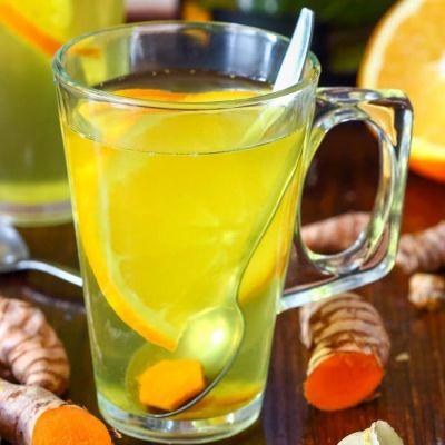 Immune Boosting Turmeric Tea