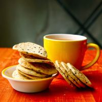 Sesame Poppy Seed Crackers