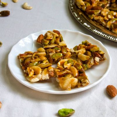 Nuts Chikki | Dry Fruit Chikki